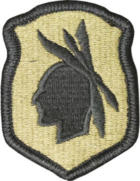 No Shine Insignia 98th Infantry Army Reserve  - Army Patch