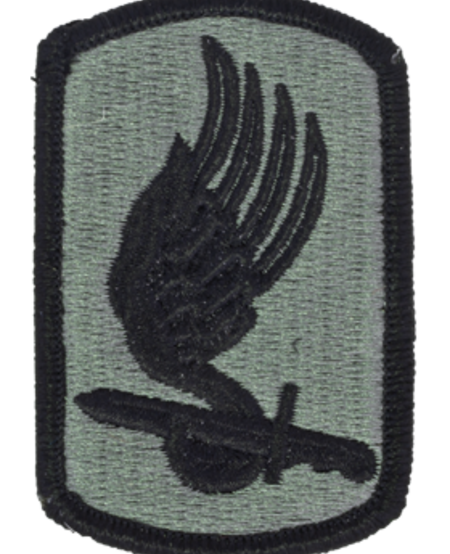 173rd Infantry Brigade Patch - Army