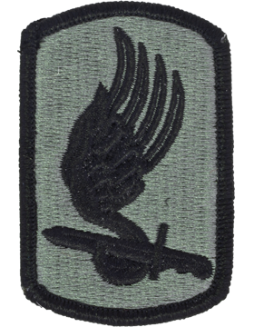 Military 173rd Infantry Brigade Patch - Army