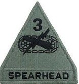 3rd Armored Division Army Patch