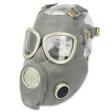 Polish MP-4 Gas Mask with bag, hose & Filter (costume purposes only)