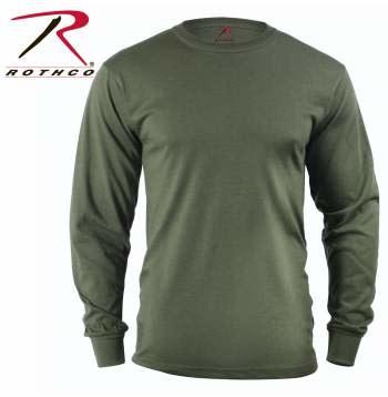 Rothco Long Sleeve Solid T-Shirt