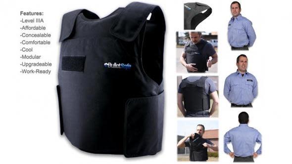 BulletSafe Level IIIA Bulletproof Vest