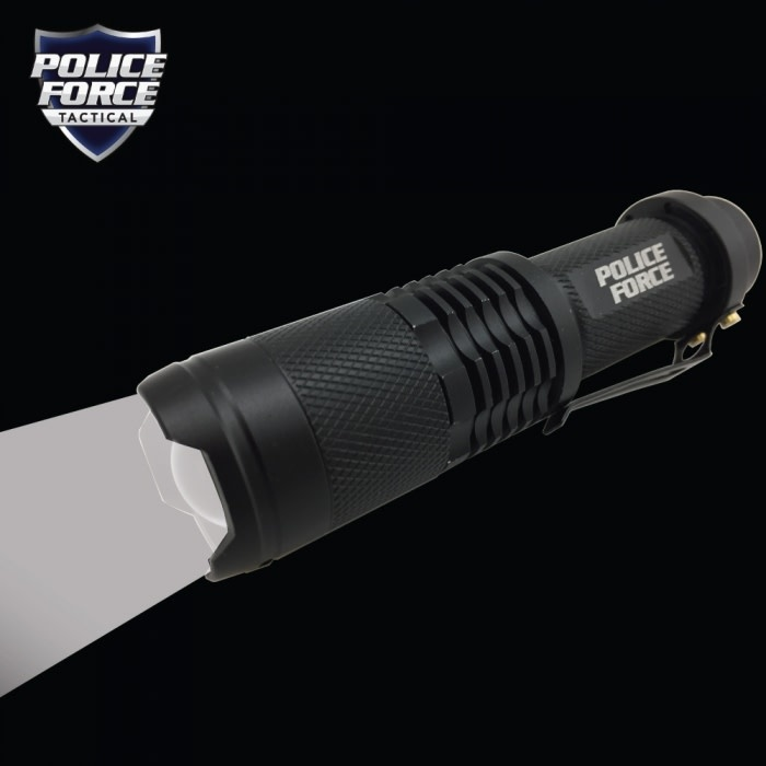 Street Wise Police Force Tactical T6 LED Flashlight