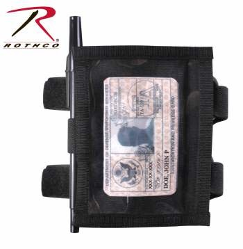 Rothco Military Style Armband ID Holder