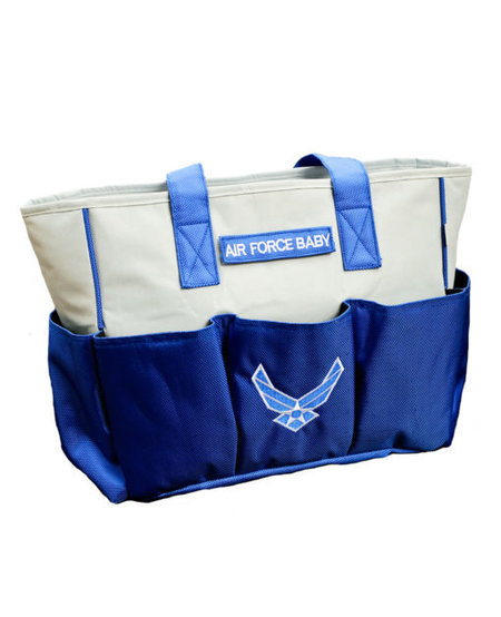 Air Force Diaper Bag with Changing Pad