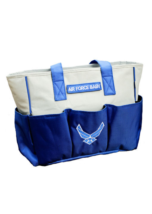 Trooper Clothing Air Force Diaper Bag with Changing Pad