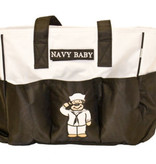 Trooper Clothing Navy Diaper Bag with Changing Pad