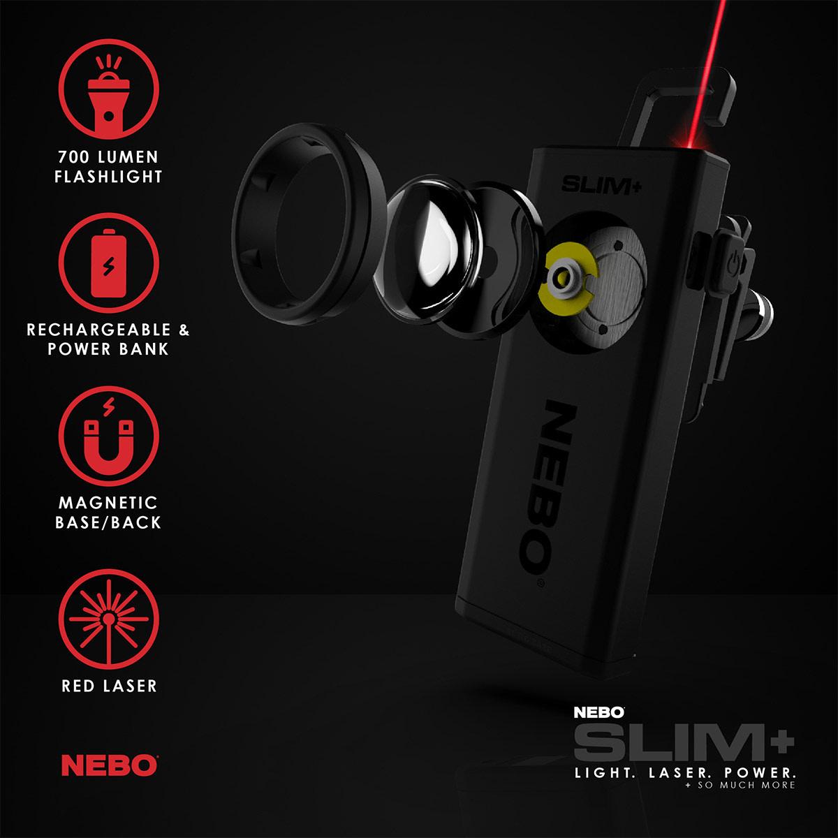 NEBO Slim+ Flashlight