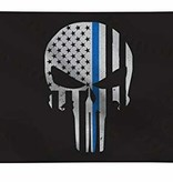 Red Rock Outdoor Gear Thin Blue Line Punisher Flag 3 x 5