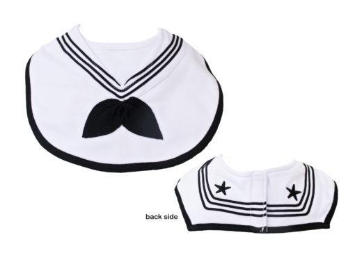 Trooper Clothing Navy Cracker Jack Sailor Bib