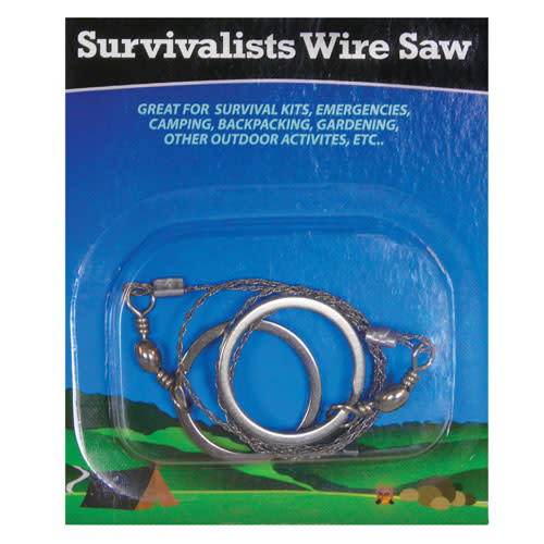 Fox Outdoor Products Deluxe Survival Wire Saw