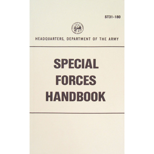 Fox Outdoor Products Special Forces Handbook