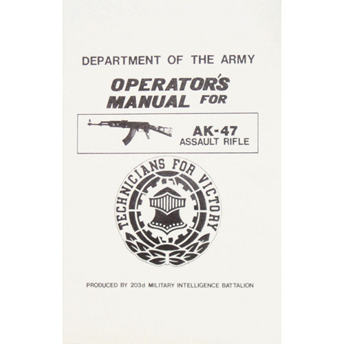 Fox Outdoor Products AK-47 Assault Rifle Manual