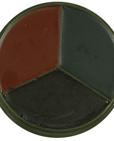 3 Color Face Paint - Woodland Camo