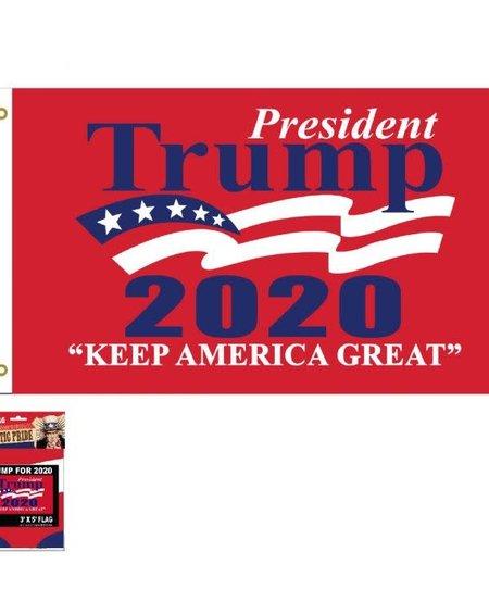 Trump 2020 Wave Flag 3 x 5