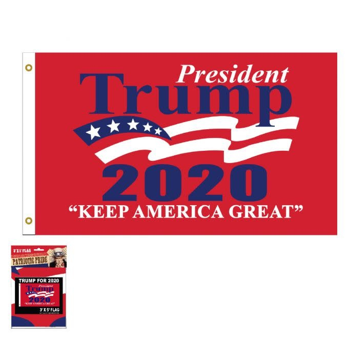 Cap Smith Trump 2020 Wave Flag 3 x 5