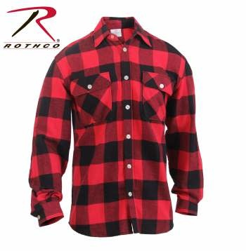 Rothco Lightweight Flannel Shirt