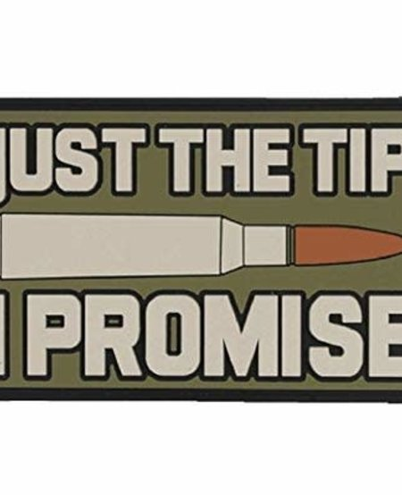 Just the Tip Morale Patch - PVC