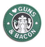 5ive Star Gear Guns and Bacon PVC Morale Patch