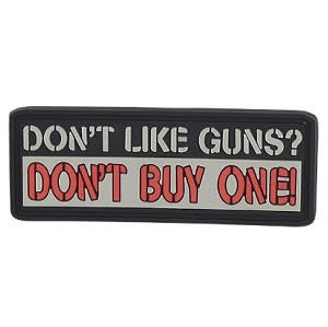 5ive Star Gear Don't Like Guns PVC Morale Patch