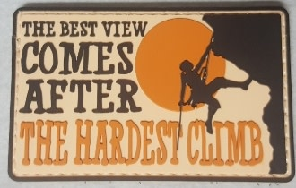 5ive Star Gear The Bests View Comes After The Hardest Climb Morale Patch
