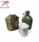 Rothco 3 Piece Canteen Kit with Cover & Aluminum Cup