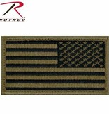 Rothco Reversed American Flag Patch