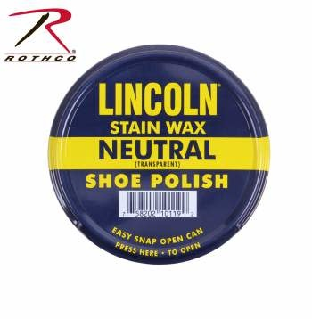 Lincoln Lincoln U.S.M.C. Stain Wax Shoe Polish
