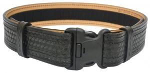 """Dutyman 2 1/4"""" Basketweave Leather Duty Belt"""