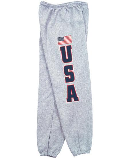 USA Flag Sweatpants
