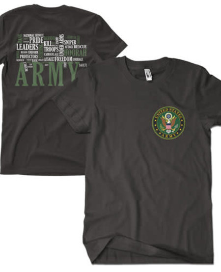 Army Words T-Shirt