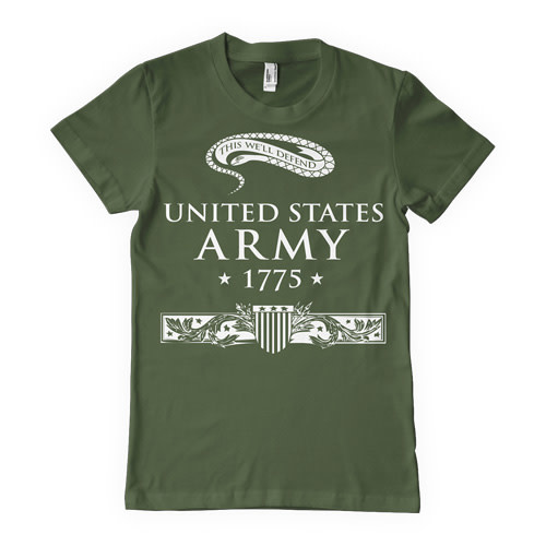 "Fox Outdoor Products United State Army ""This We'll Defend"" T-Shirt"