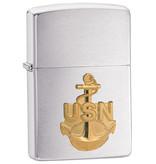 Zippo US Navy Anchor Crest Zippo Lighter