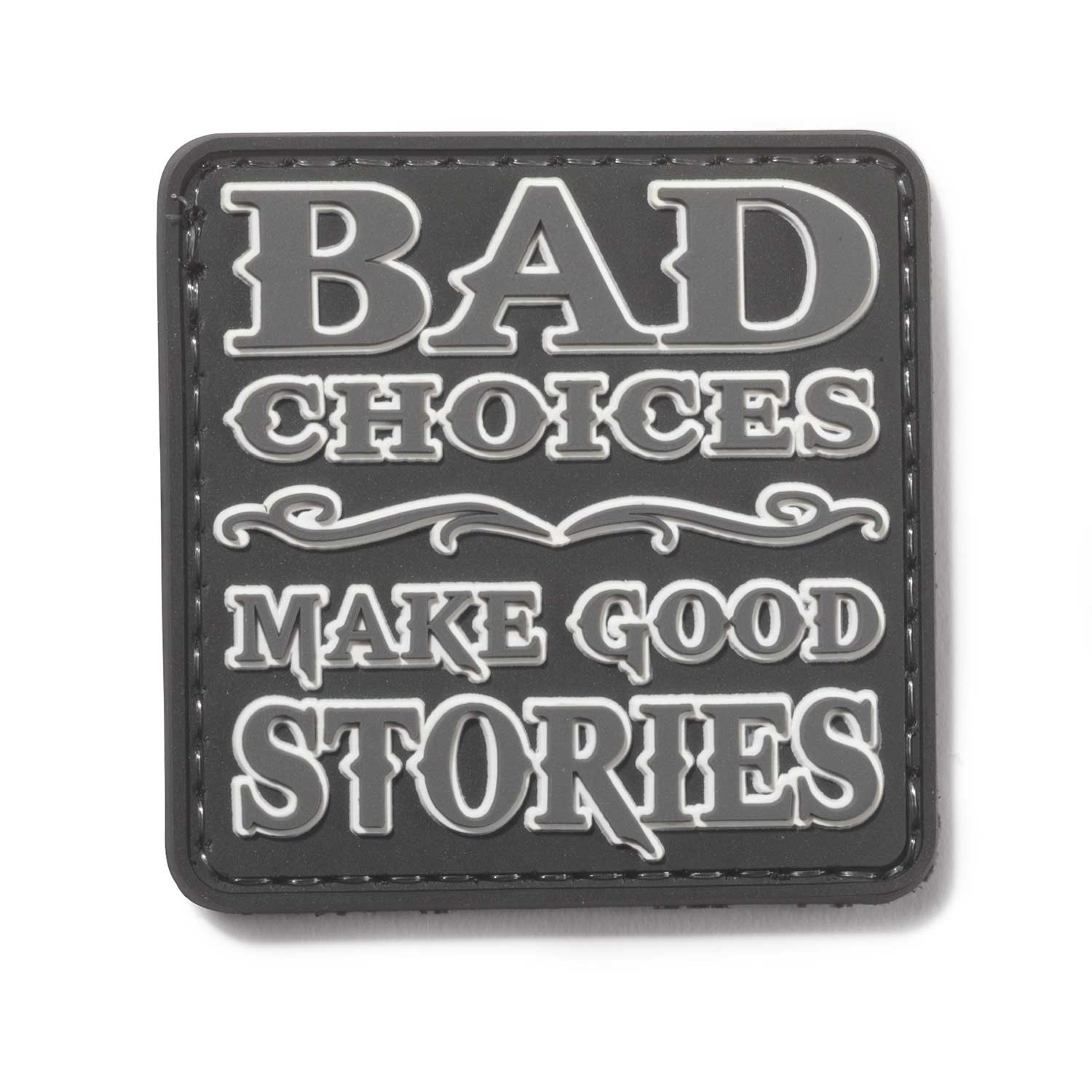 5ive Star Gear Bad Choices Make Good Stories Morale Patch