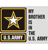 Mitchell Proffitt My Brother is in the U.S. Army with Army Star