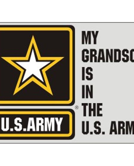 My Grandson is in the US Army with US Army Star