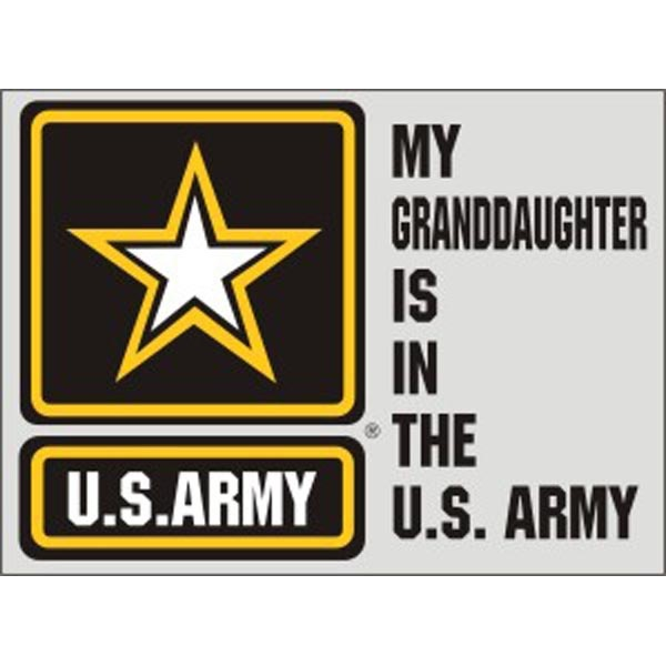 Mitchell Proffitt My Granddaughter is in the US Army with US Army Star