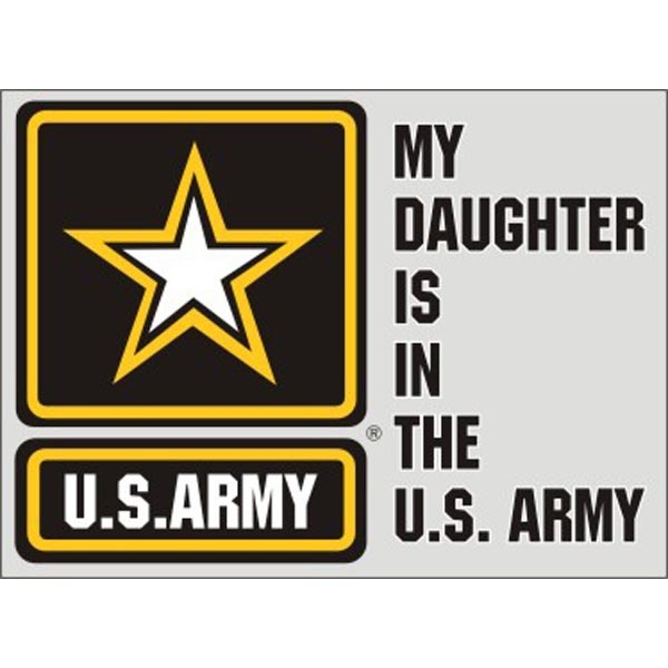 Mitchell Proffitt My Daughter is in the US Army with US Army Star Logo