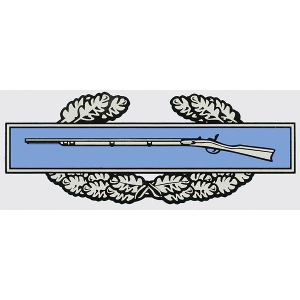 "Mitchell Proffitt Combat Infantry Badge (7"" x 2.75"") Decal"