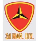 Mitchell Proffitt Marines 3rd Division Decal