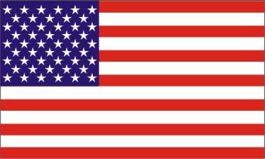 Mitchell Proffitt USA Flag Decal