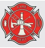 Mitchell Proffitt Fire Deparment Logo Decal