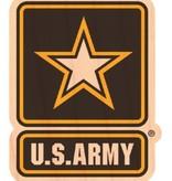 Mitchell Proffitt Military Wooden Stickers