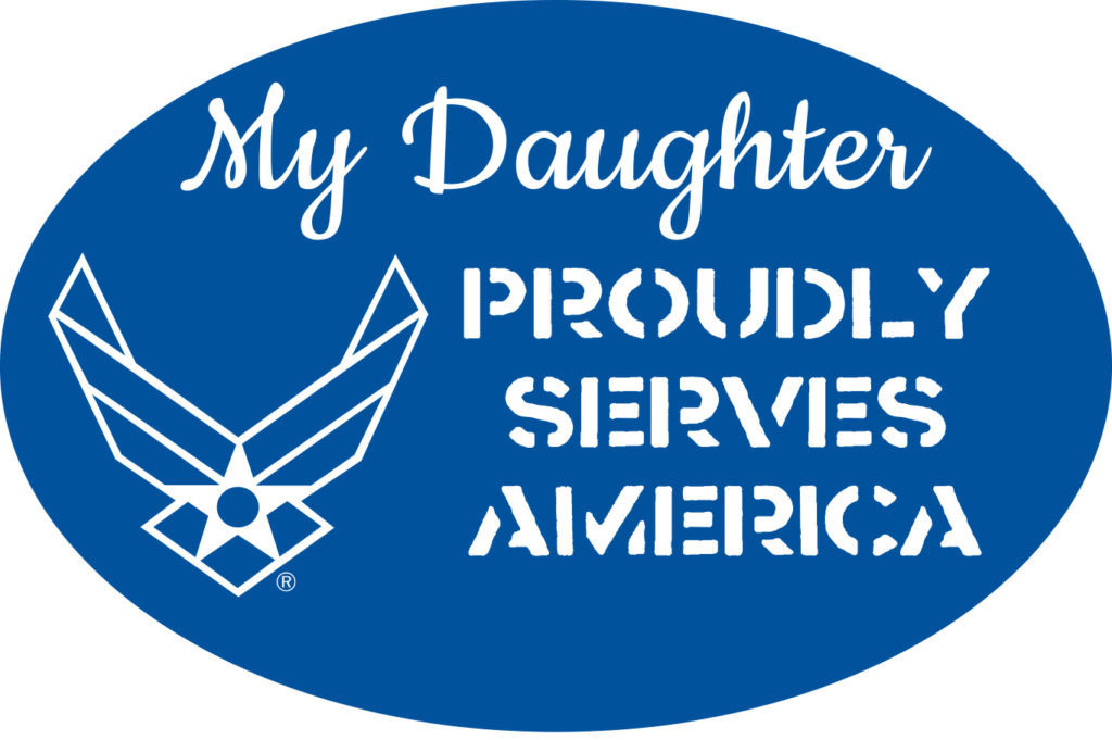 Mitchell Proffitt My Daughter Proudly Serves America Magnet - AF