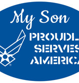 Mitchell Proffitt My Son Proudly Serves America Magnet - AF