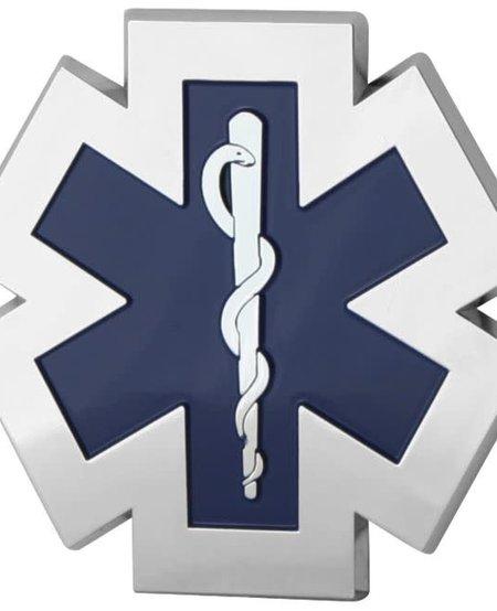EMS Auto Chrome Emblem