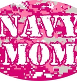 Mitchell Proffitt Navy Mom on Pink Digital Magnet