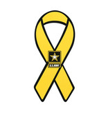 Mitchell Proffitt Army Star on Yellow Ribbon Magnet
