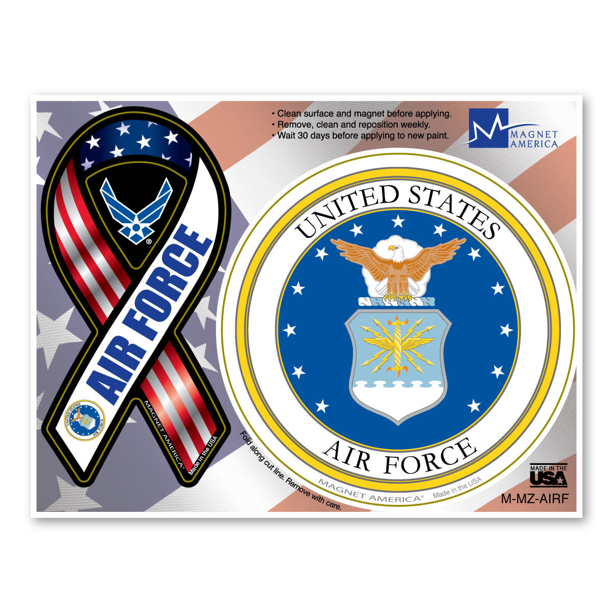 Air Force Combo Magnet
